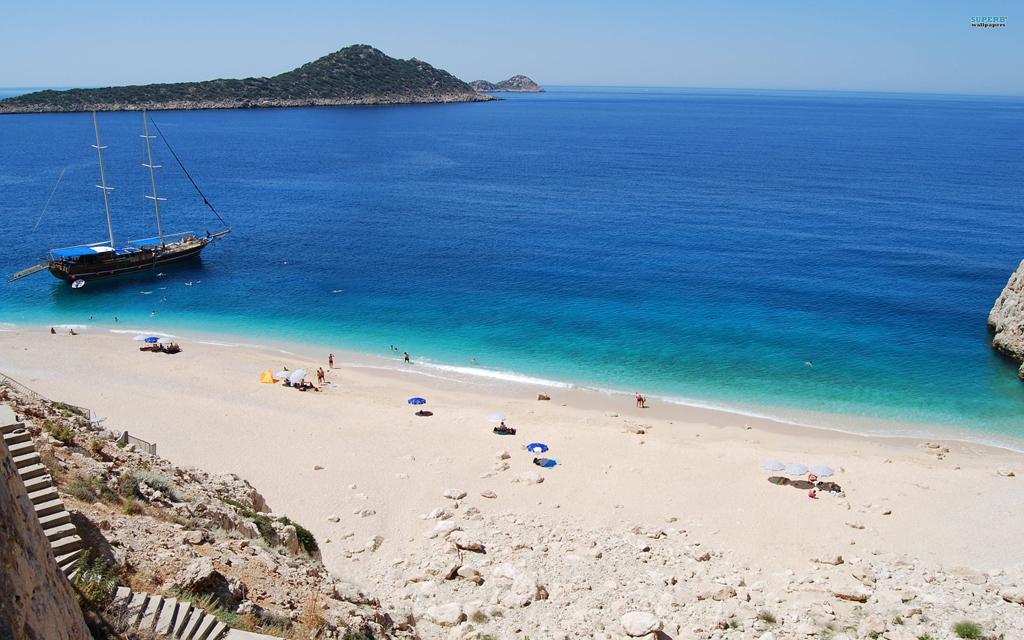 Пляж Капуташ в Турции, фото 1