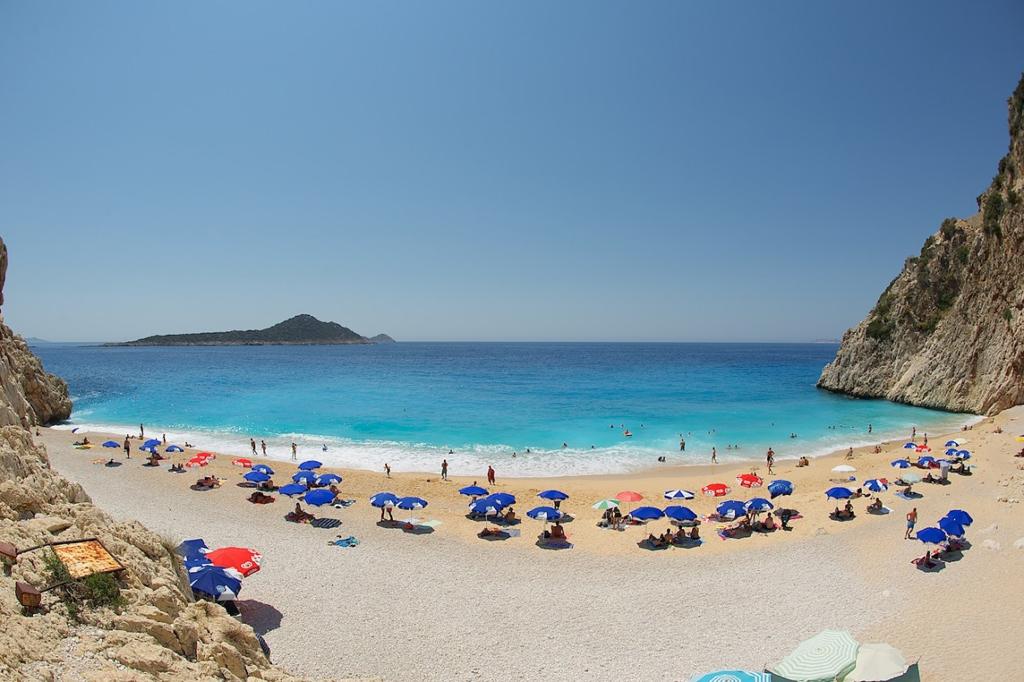 Пляж Капуташ в Турции, фото 2