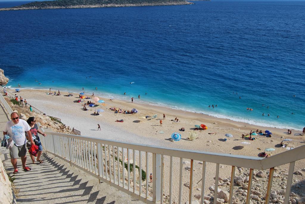 Пляж Капуташ в Турции, фото 8