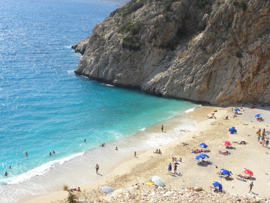 Пляж Капуташ в Турции, фото 9