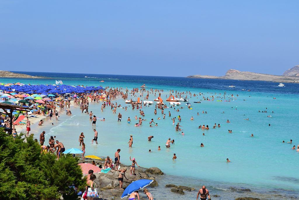 Пляж Ла Пелоза в Италии, фото 7