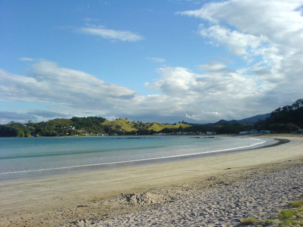 Пляж Оакура в Новой Зеландии, фото 2