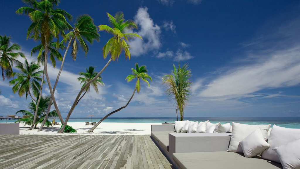 Пляж острова Алила Виллас Хадахаа на Мальдивских островах, фото 1