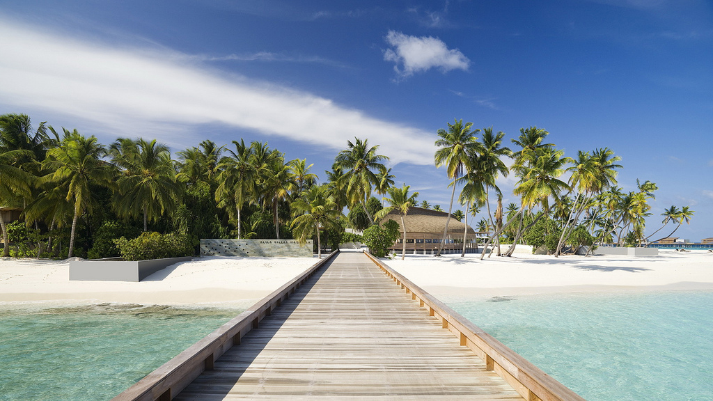 Пляж острова Алила Виллас Хадахаа на Мальдивских островах, фото 7