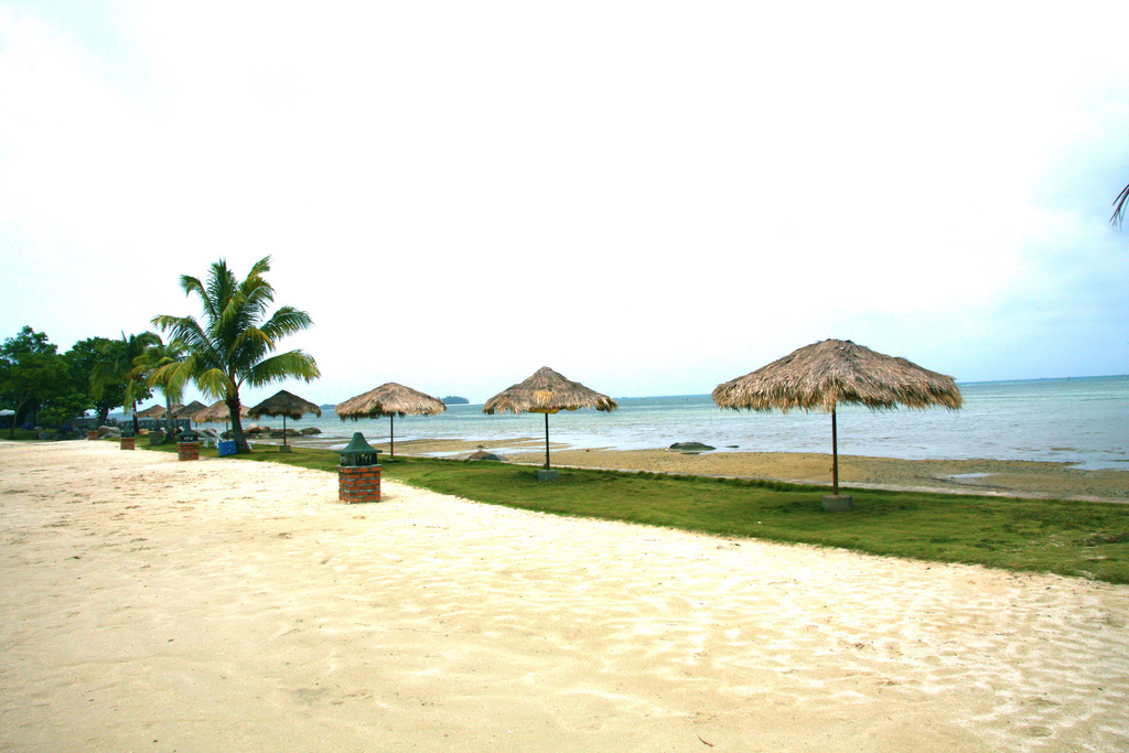 Пляж острова Бинтан в Индонезии, фото 3