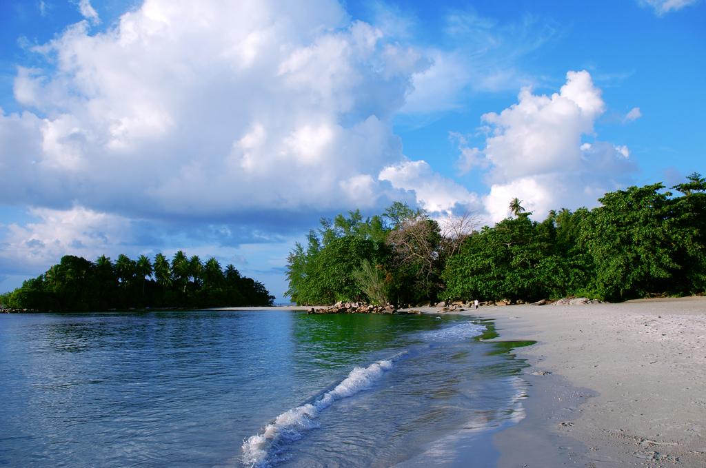 Пляж острова Бинтан в Индонезии, фото 8