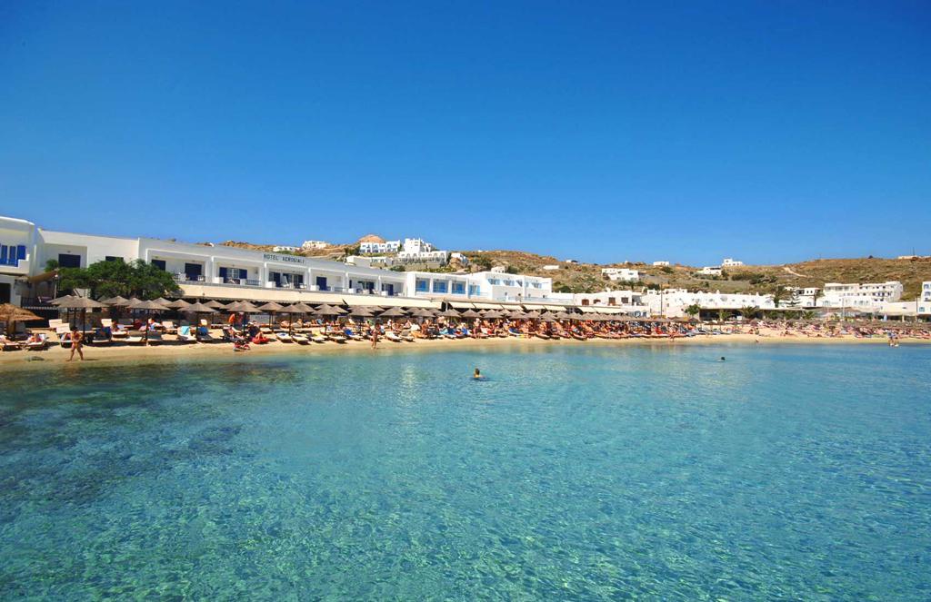 Пляж острова Миконос в Греции, фото 2