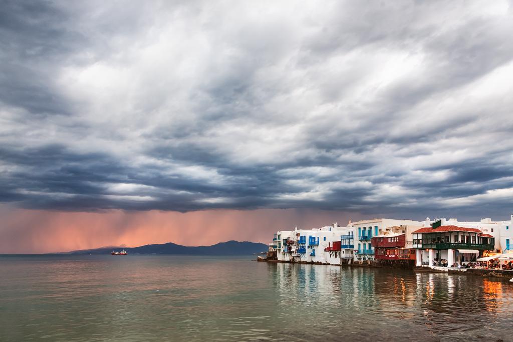 Пляж острова Миконос в Греции, фото 3