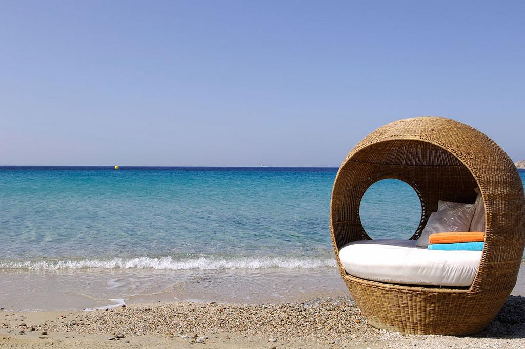 Пляж острова Миконос в Греции, фото 4