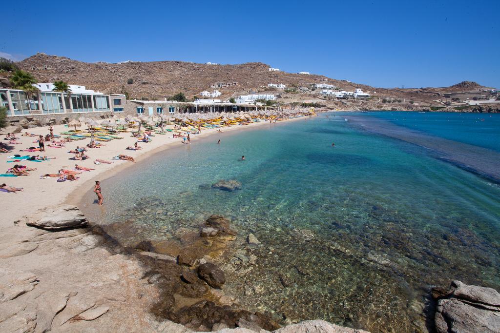 Пляж острова Миконос в Греции, фото 5