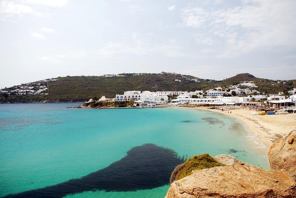 Пляж острова Миконос в Греции, фото 8