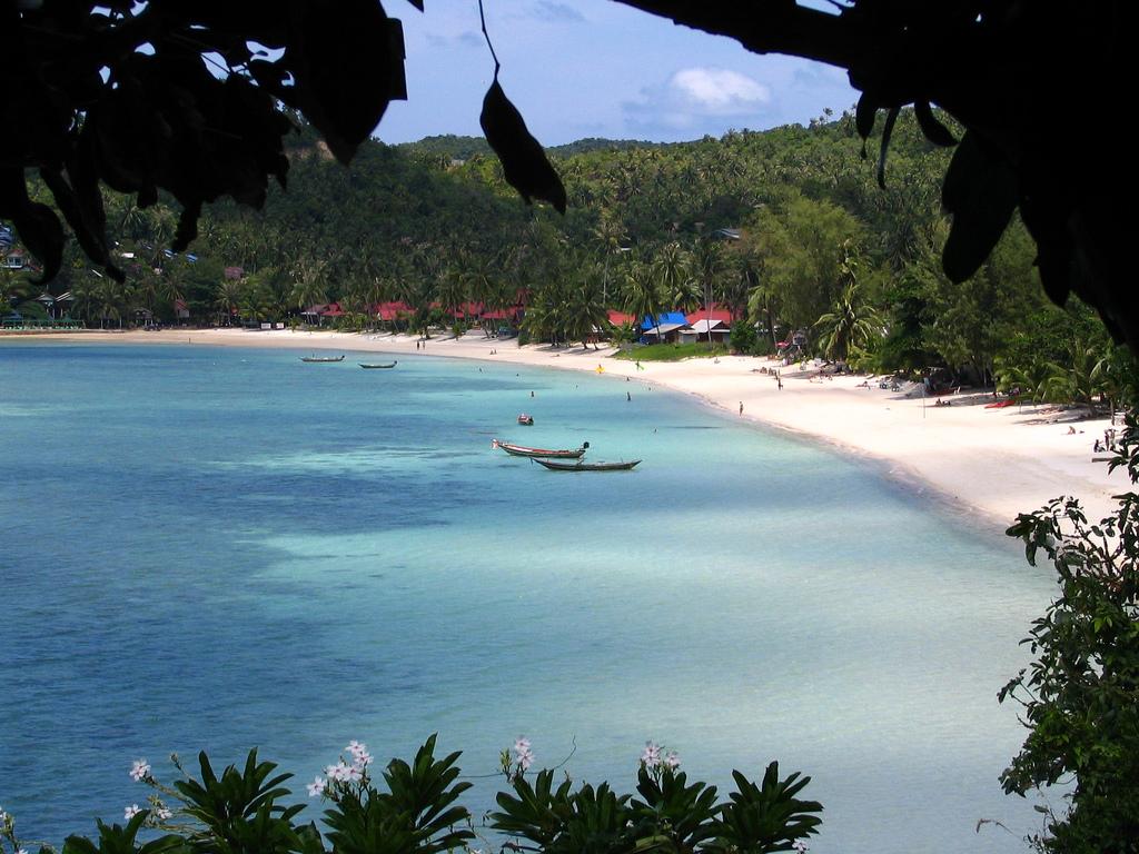 Пляж острова Пханган в Таиланде, фото 2