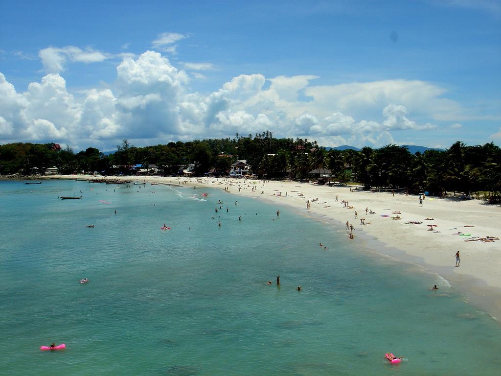 Пляж острова Пханган в Таиланде, фото 3