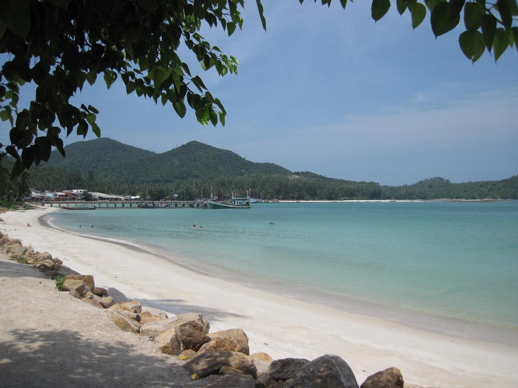 Пляж острова Пханган в Таиланде, фото 4
