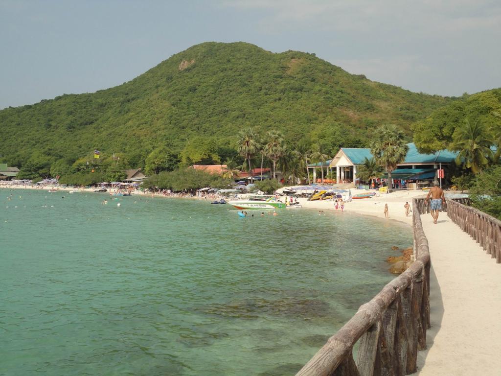 Пляж острова Пханган в Таиланде, фото 6