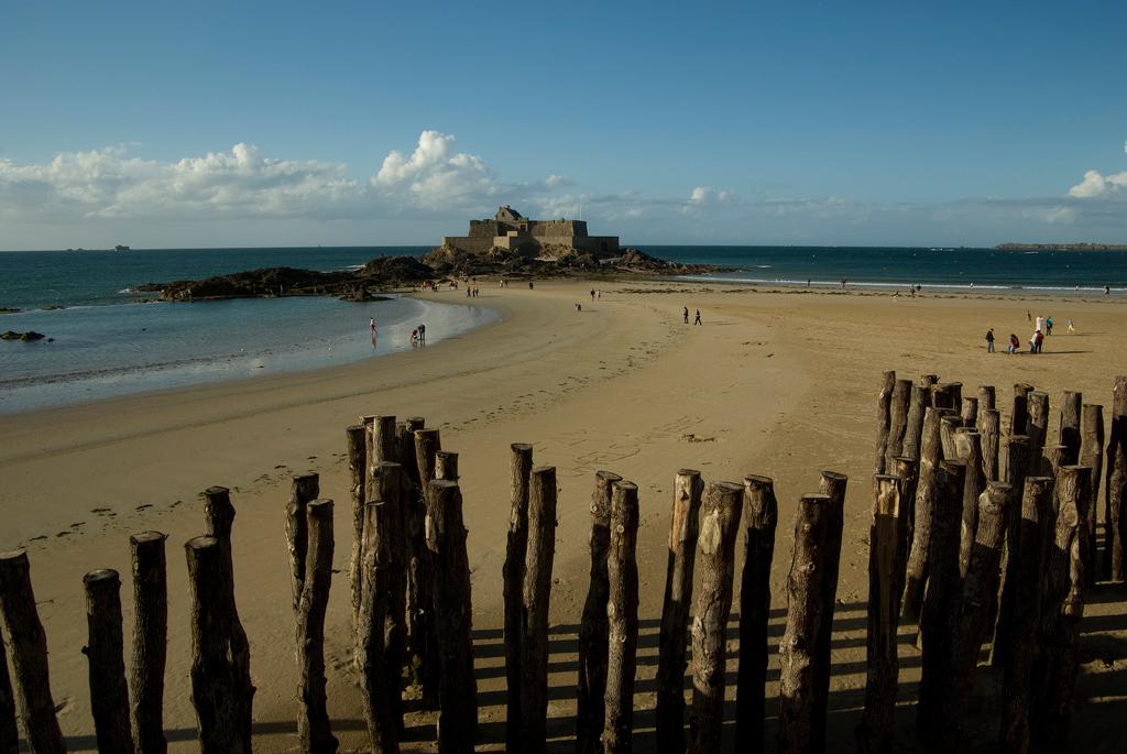 Пляж Сен-Мало во Франции, фото 2