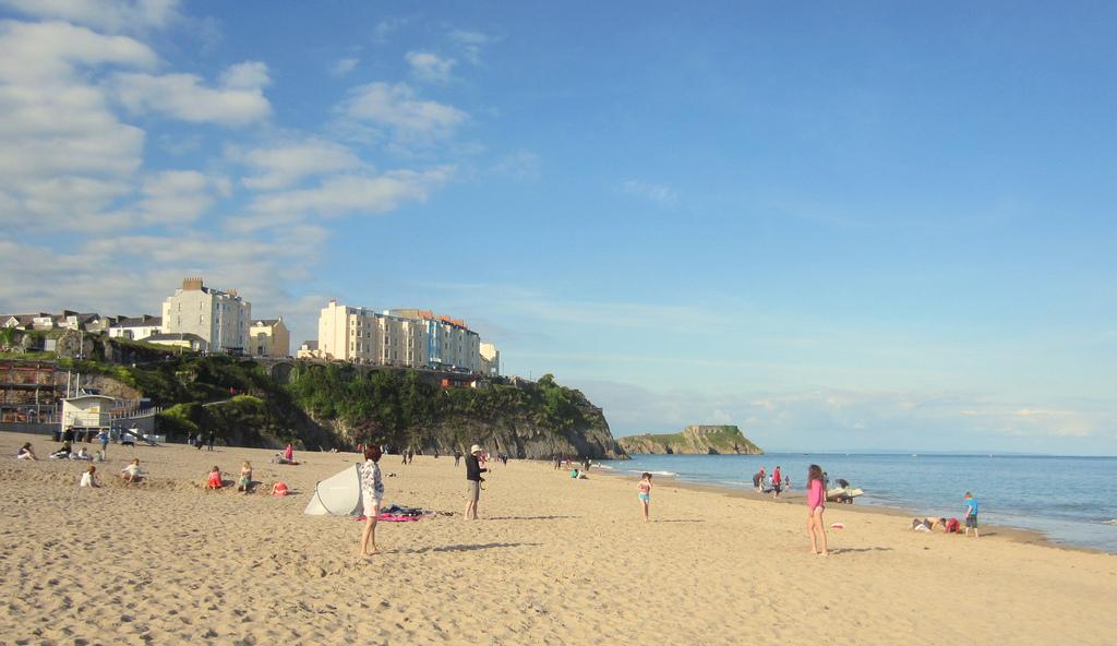 Пляж Тенби в Великобритании, фото 1