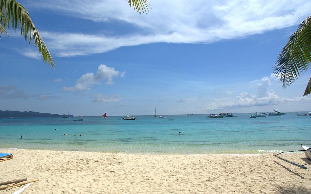 Пляж Ваит Бич на Филиппинах, фото 10