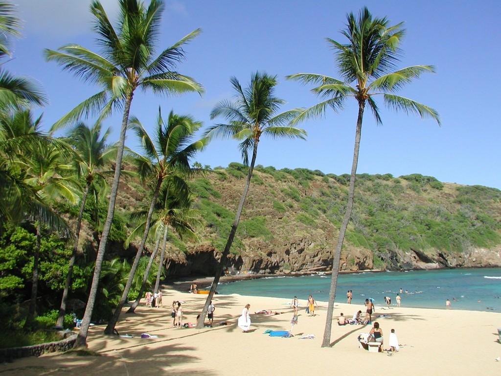 Пляж Ханаума Бэй в США, фото 2