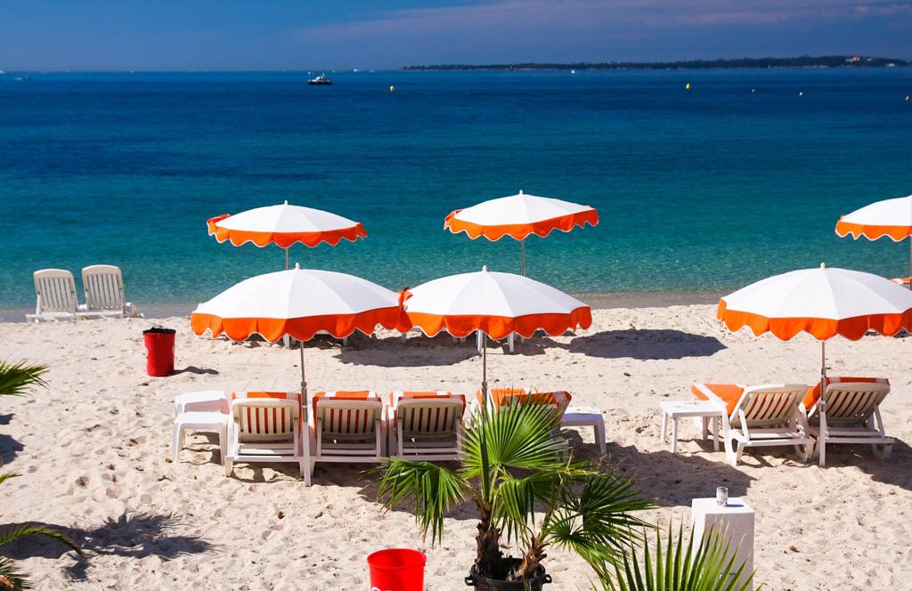 Пляж Жуан-ле-Пен во Франции, фото 1