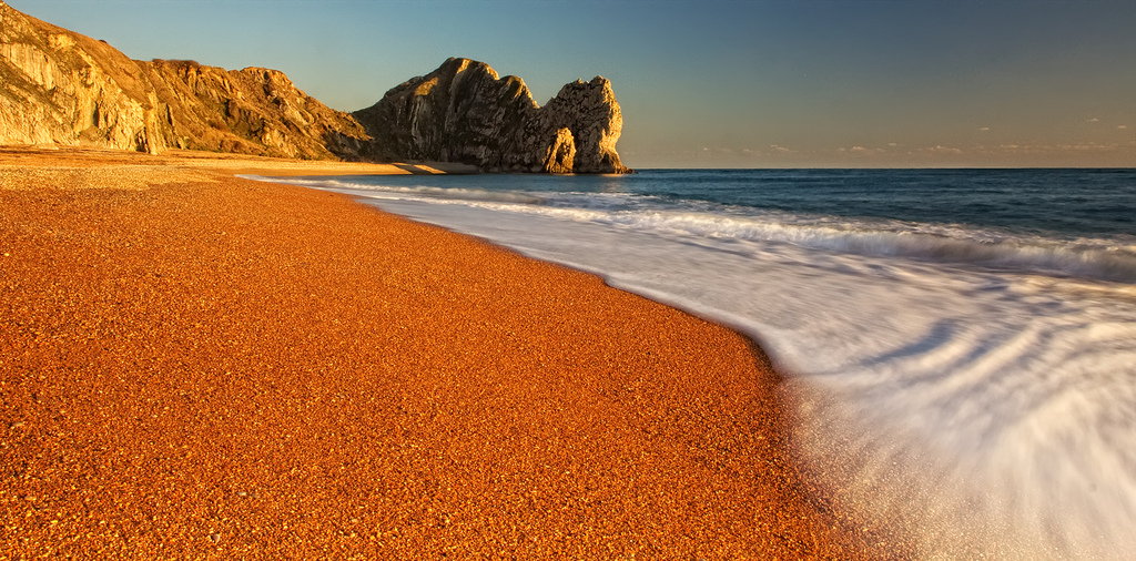 Пляж Дурдл Дор в Великобритании, фото 1