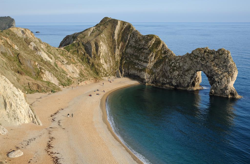 Пляж Дурдл Дор в Великобритании, фото 3