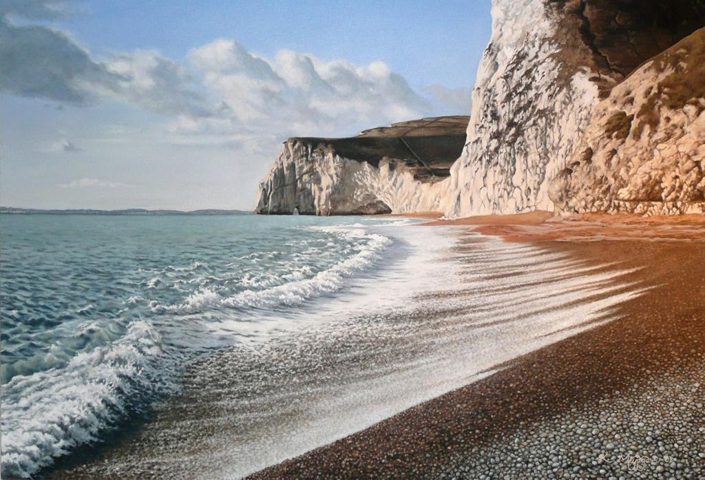Пляж Дурдл Дор в Великобритании, фото 4