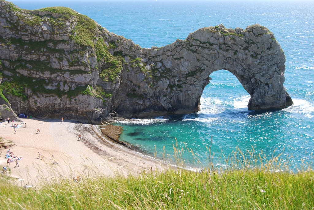 Пляж Дурдл Дор в Великобритании, фото 9