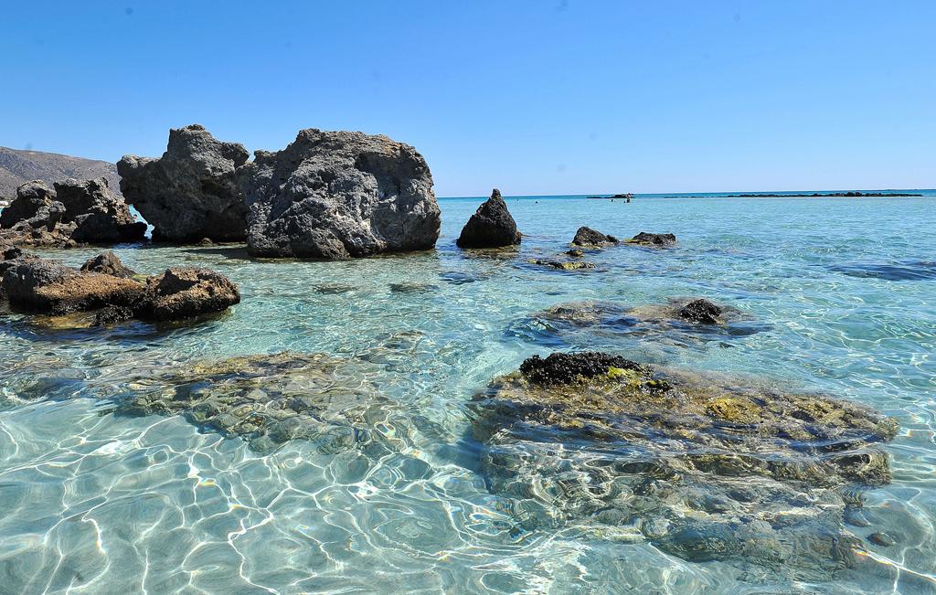 Пляж Элафониси в Греции, фото 1