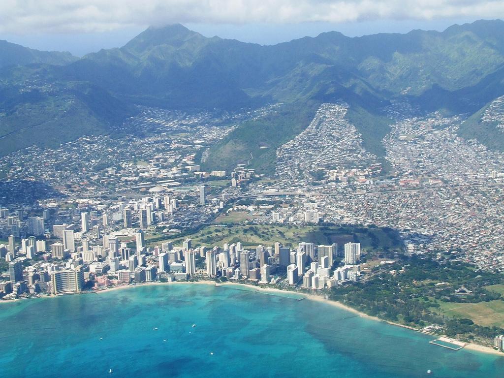 Пляж Гонолулу в США, фото 2