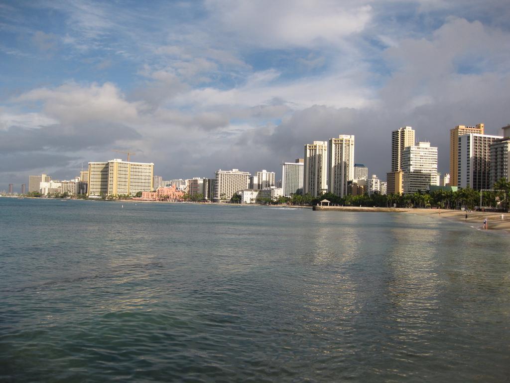 Пляж Гонолулу в США, фото 3