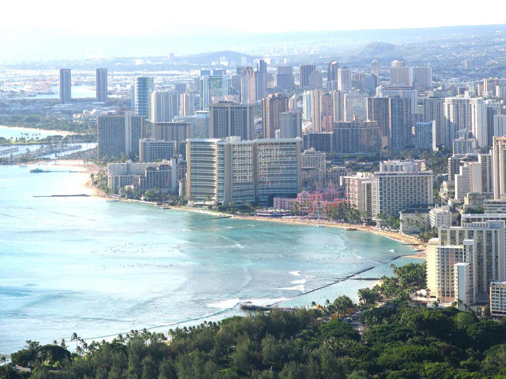 Пляж Гонолулу в США, фото 4