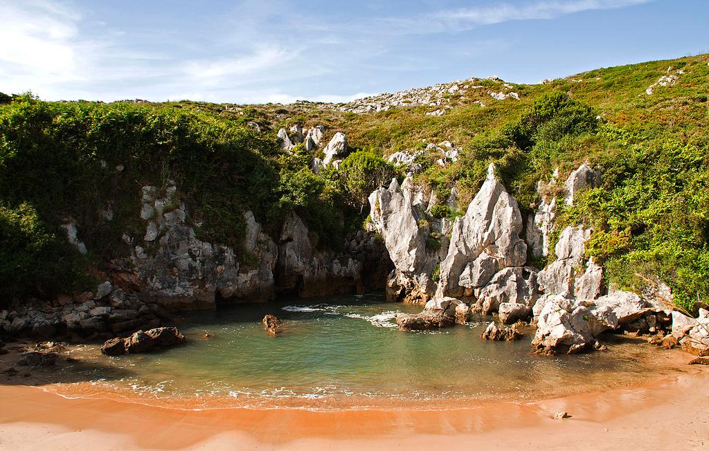 Пляж Гульпиюри в Испании, фото 8