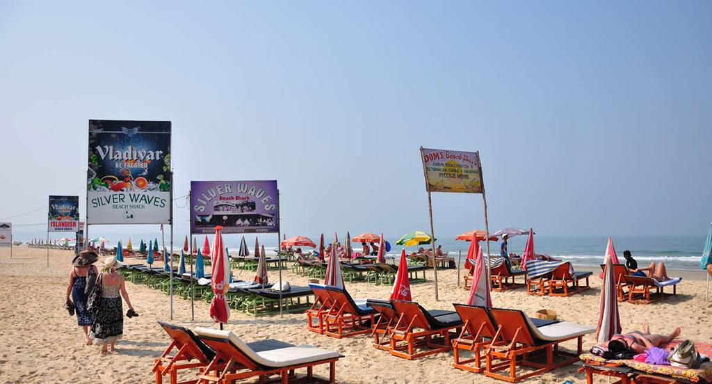 Пляж Кавелоссим в Индии, фото 2