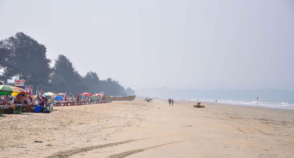 Пляж Кавелоссим в Индии, фото 5