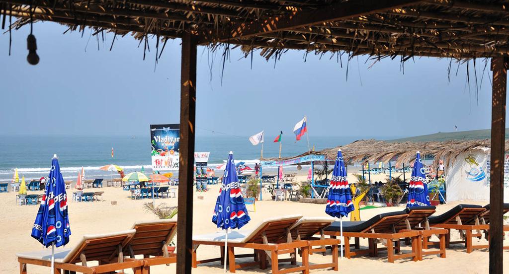 Пляж Кавелоссим в Индии, фото 6