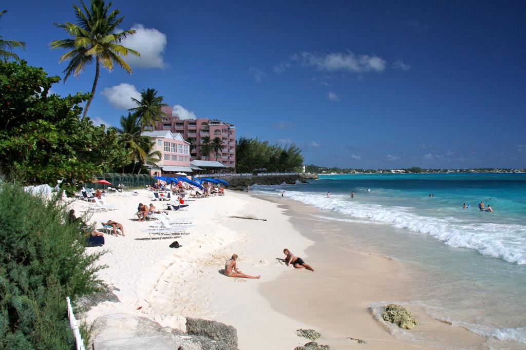 Пляж Маквелл Бич в Барбадосе, фото 1