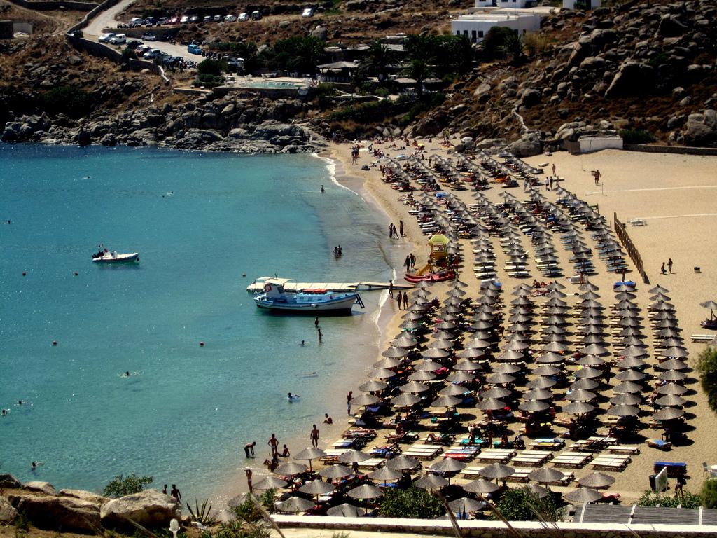 Пляж Миконос в Греции, фото 4