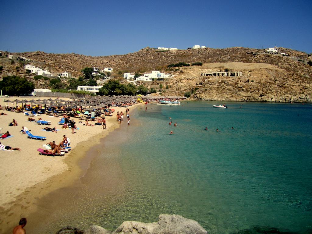 Пляж Миконос в Греции, фото 5