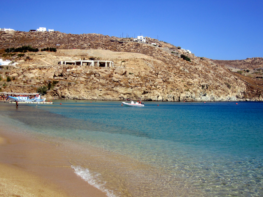 Пляж Миконос в Греции, фото 6
