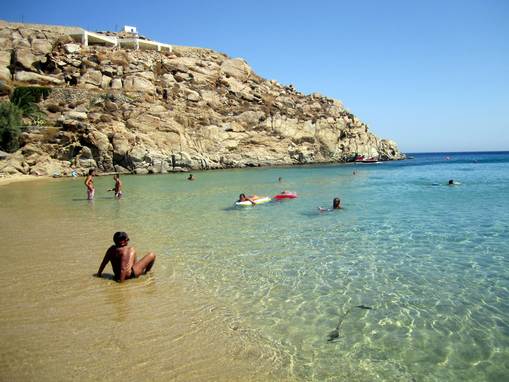 Пляж Миконос в Греции, фото 7