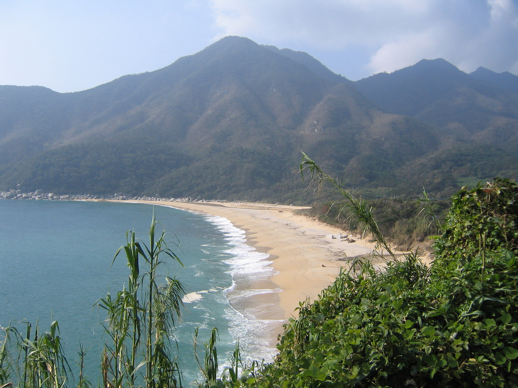Пляж Миядзаки в Японии, фото 1
