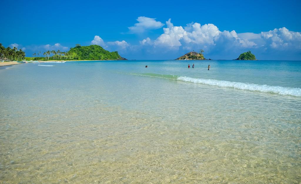 Пляж Накпан на Филиппинах, фото 4
