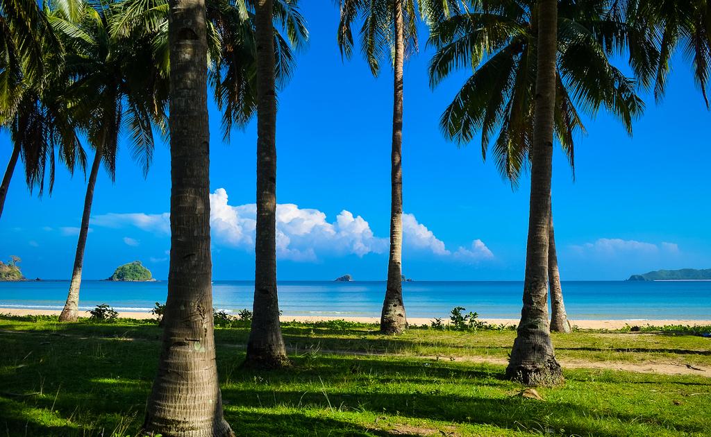 Пляж Накпан на Филиппинах, фото 5