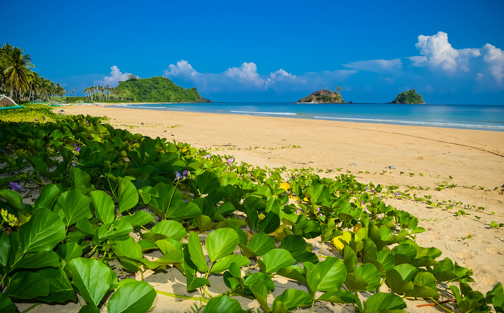 Пляж Накпан на Филиппинах, фото 6