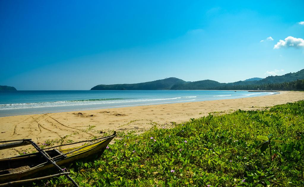 Пляж Накпан на Филиппинах, фото 7