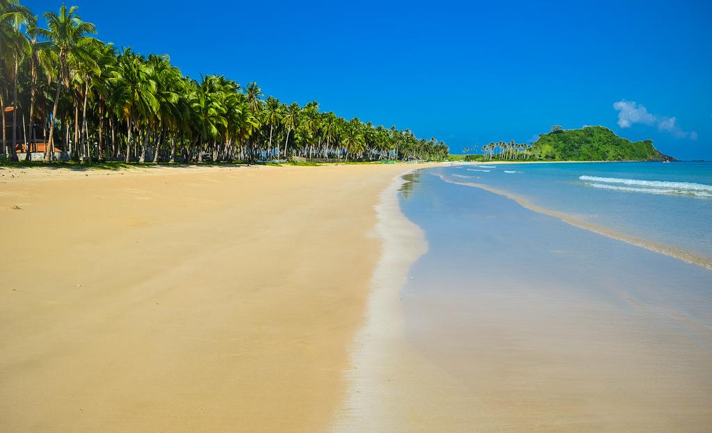 Пляж Накпан на Филиппинах, фото 9