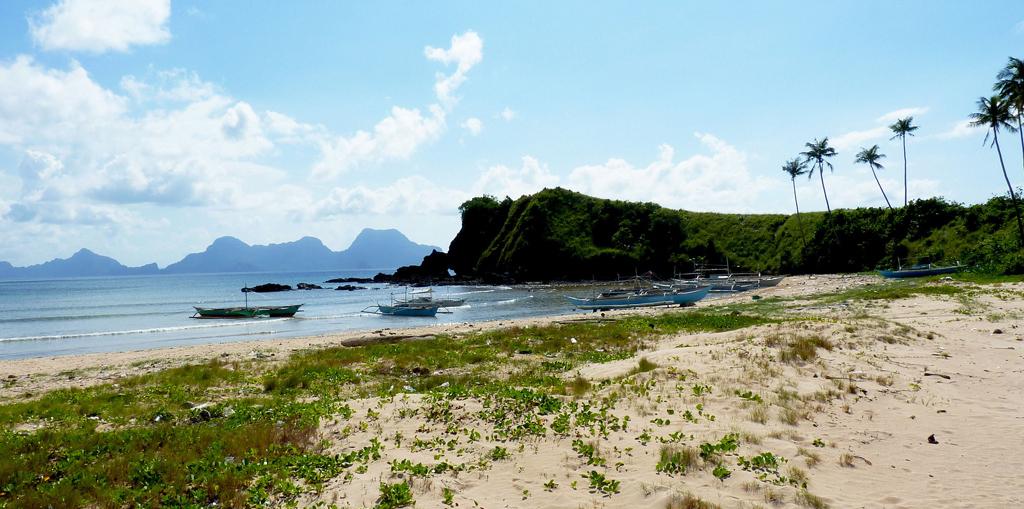 Пляж Накпан на Филиппинах, фото 10
