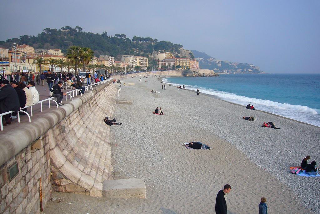 Пляж Ницца во Франции, фото 2