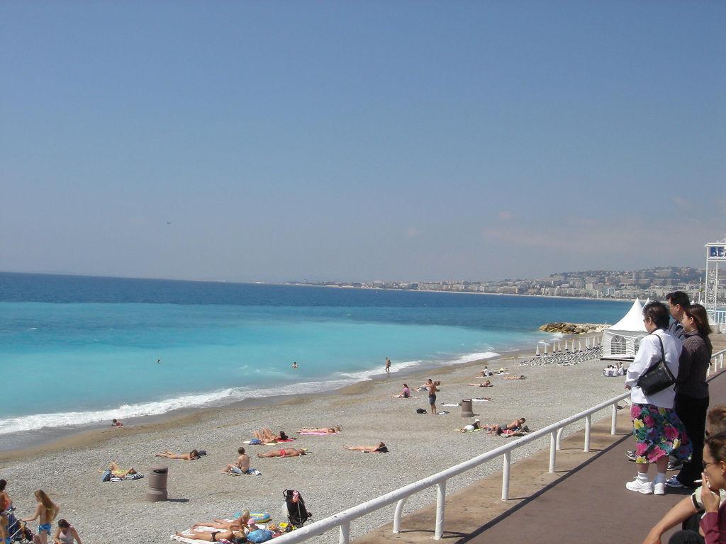 Пляж Ницца во Франции, фото 3